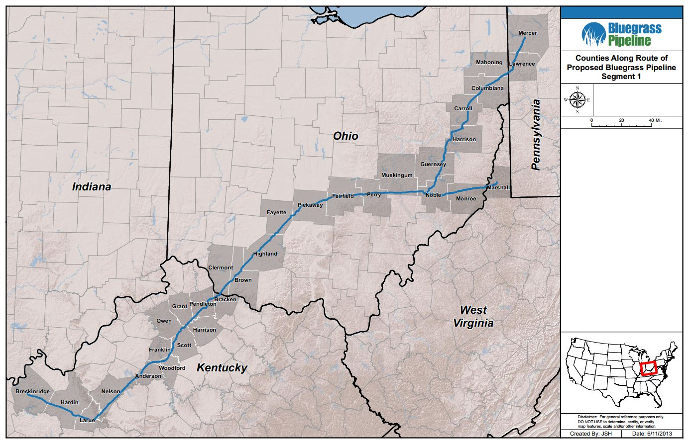 New Pipeline from PA Fracking Fields Stirs Controversy in the