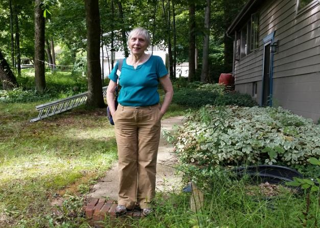Gwen Fisher is a retired professor who is concerned about groundwater contamination from wastewater injection wells.